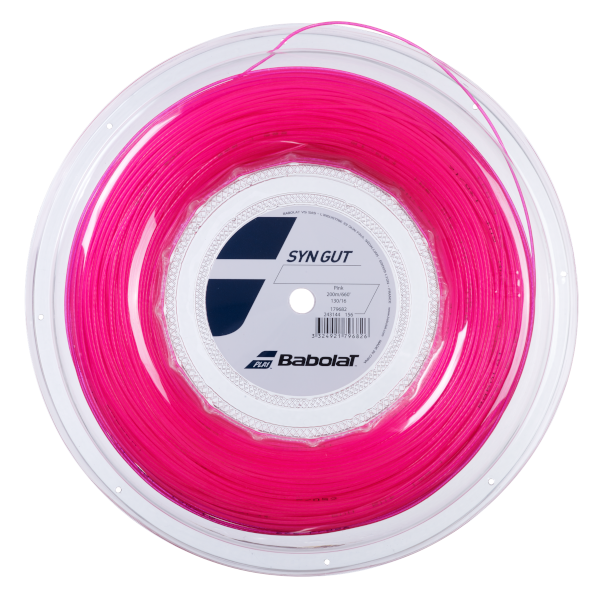 Babolat Synthetic Gut Pink 1.30 Reel