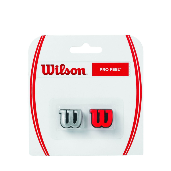 Wilson Profeel Red and Silver